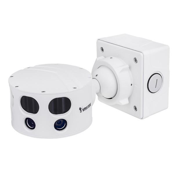 VIVOTEK MS8391-EV Multi-Sensor IP Kamera 12MP, Outdoor, 180° Panorama, PoE+