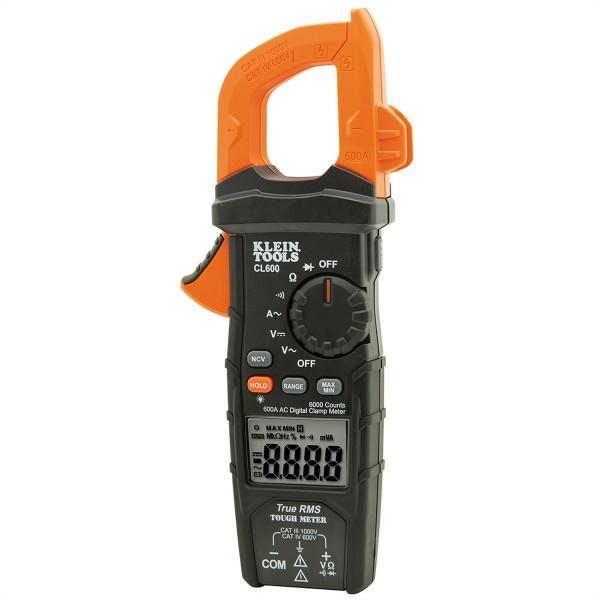 KLEIN TOOLS CL600 Digitale Stromzange 600 A AC mit automatischer Bereichseinstellung
