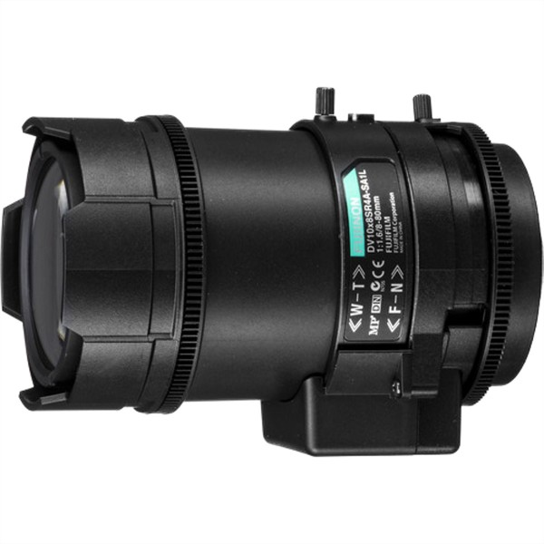 PANASONIC DV10X8SR4A-SA1L Varioobjektiv bis 3MP, 8~80mm, manueller Fokus und Zoom, Fassung: C-Mount