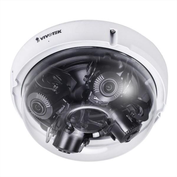 VIVOTEK MA8391-ETV Multi-Sensor IP Kamera 12MP, Outdoor, Multidirektional, Dome, Audio