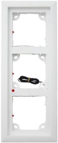 MOBOTIX MX-OPT-Frame-3-EXT-PW 3er Rahmen, weiß
