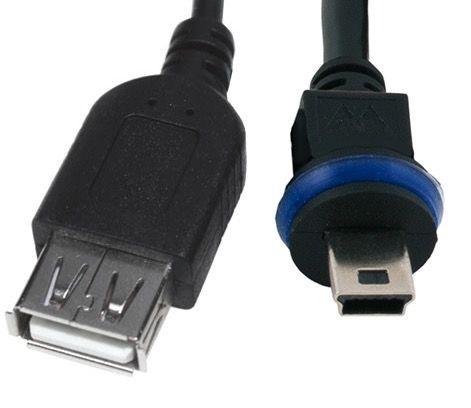 MOBOTIX MX-CBL-MU-STR-AB-05 USB-Gerät Kabel für D/S/V1x, 0,5 m