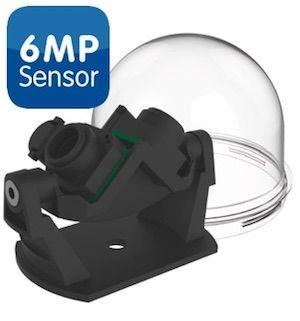 MOBOTIX Mx-O-SDA-P-6D6D Sensorbrücke PAN/180° für D16/D15, 2x 6MP (Tag)