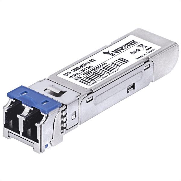 VIVOTEK SFP-1000-MM13-02 Gigabit SFP Transciever, MM, 2KM