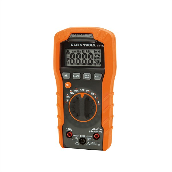 KLEIN TOOLS MM400 Digital Multimeter, automatische Bereichseinstellung 600V