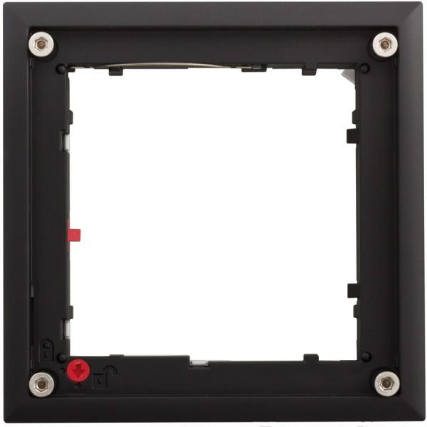 MOBOTIX FlatMount Frame schwarz für MxDisplay (MX-OPT-FlatMount-EXT-BL)