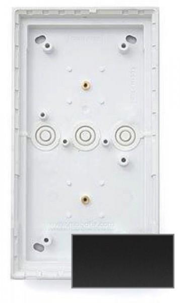 MOBOTIX MX-OPT-Box-2-EXT-ON-BL 2er Aufputzgehäuse, schwarz