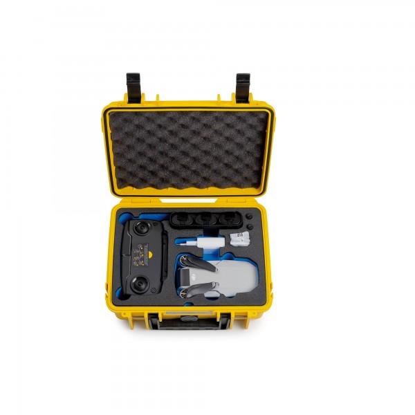 B&W Transportkoffer für die DJI Mavic Mini Type1000 gelb