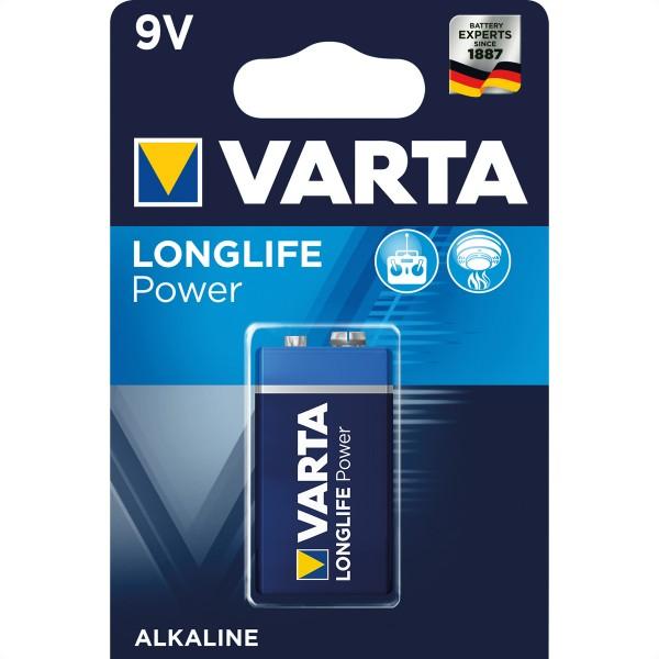 VARTA Batterie E-Block 6LR61, 9V