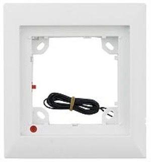 MOBOTIX MX-OPT-Frame-1-EXT-PW 1er Rahmen, weiß