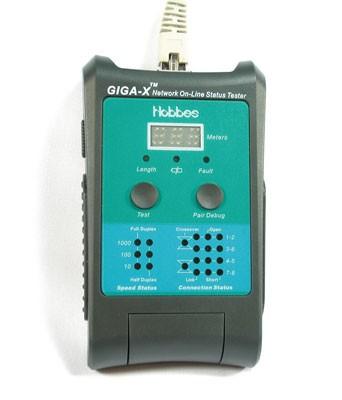 HOBBES GIGA-X Netzwerk Status Tester