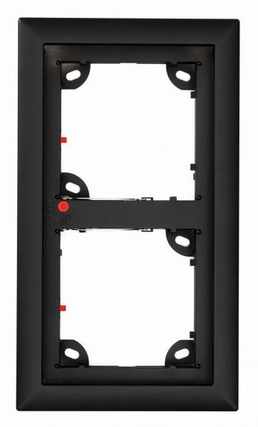 MOBOTIX MX-OPT-Frame-2-EXT-BL 2er Rahmen, schwarz