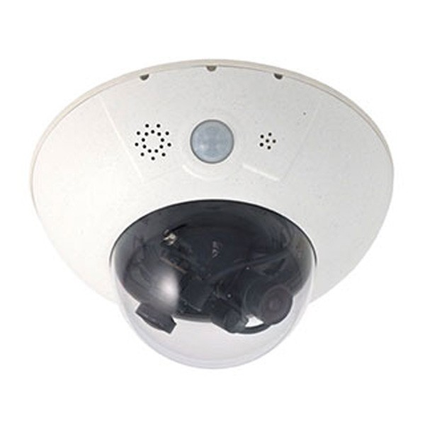 MOBOTIX D15 DualDome-Kamera 6MP, ohne Sensormodul(e)