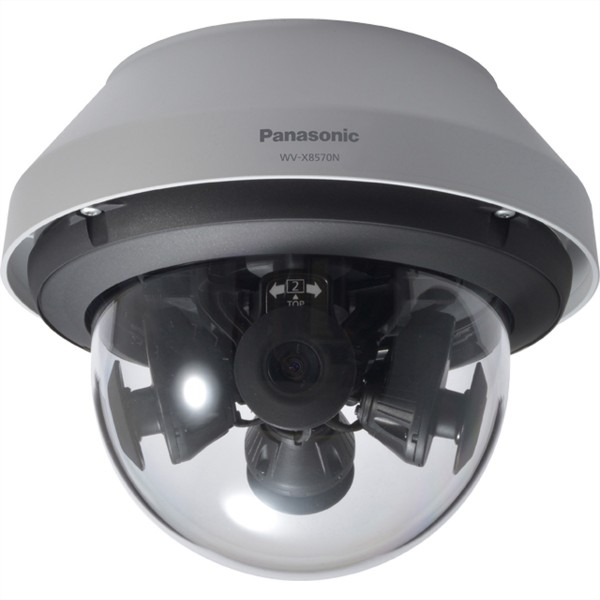 PANASONIC i-Pro Extreme WV-X8570N Multi-Sensor Dome IP Kamera für den Außeneinsatz