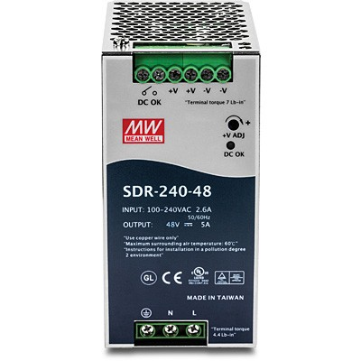 Trendnet TI-S24048 industrielles DIN-Rail-Netzteil