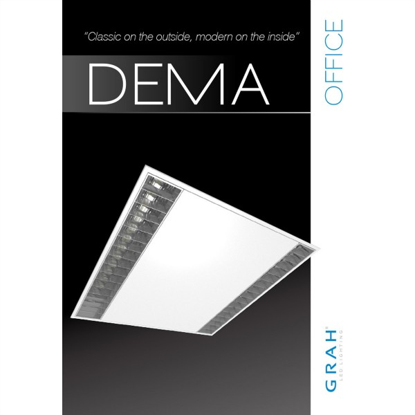 GRAH DEMA II 60/60 Panel für Office Beleuchtung