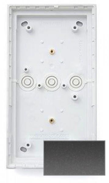 MOBOTIX MX-OPT-Box-2-EXT-ON-DG 2er Aufputzgehäuse, dunkelgrau