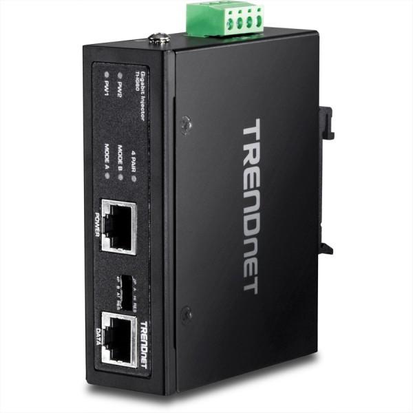Trendnet TI-IG60 Gehärteter industrieller Gigabit PoE+ Injektor