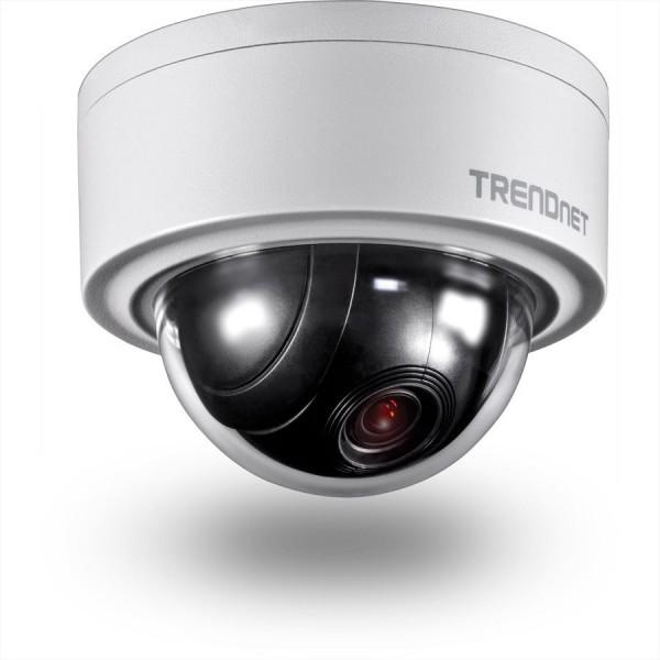 Trendnet TV-IP420P Indoor / Outdoor 3 MP Motorisierte PTZ Kuppelnetzwerkkamera