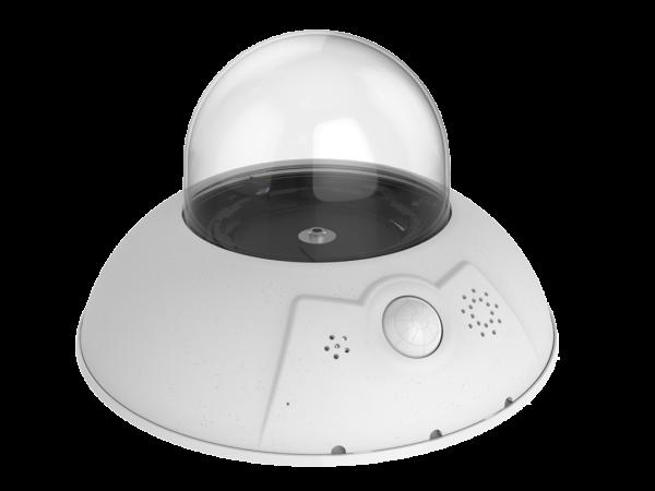 MOBOTIX D16B DualDome-Kamera 6MP ohne Objektiv(e)