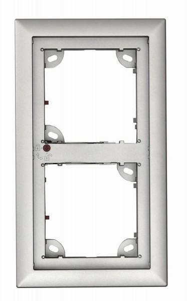 MOBOTIX MX-OPT-Frame-2-EXT-SV 2er Rahmen, silber