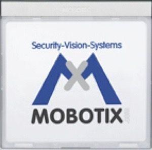 MOBOTIX MX-Info1-EXT-SV Infomodul mit LEDs, silber