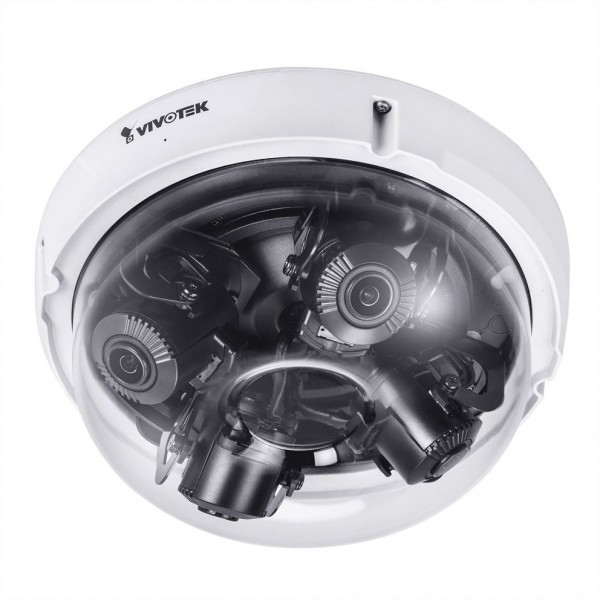 VIVOTEK MA9321-EHTV Multi-Sensor IP Kamera, 20MP, 4x Varioobjektiv, Remote-Focus, bis -40°C