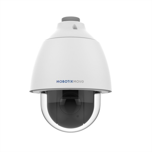 MOBOTIX MOVE Speed-Dome Kamera 3MP mit 30x opt. Zoom, IP66/IK10, 25.4W, WDR, 4.3-129mm (2-62°) ohne
