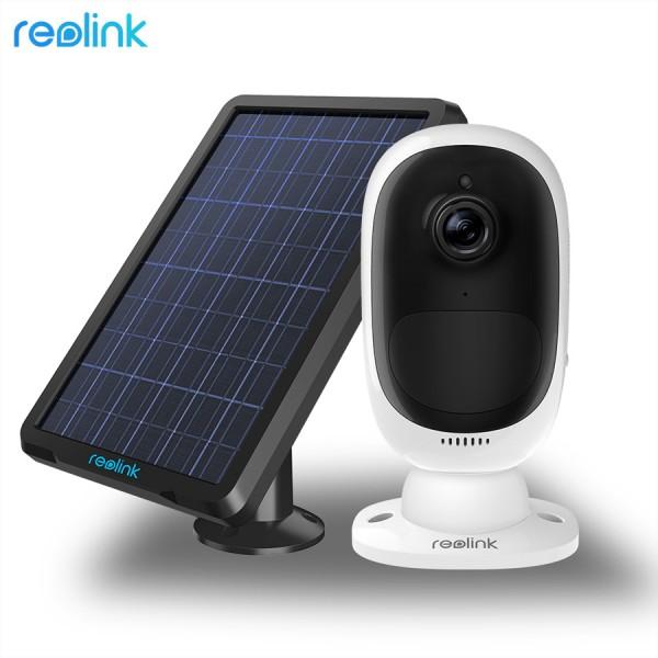 Reolink Argus® 2, 100% kabellose wiederaufladbare WLAN-Kamera inkl. Solarpanel